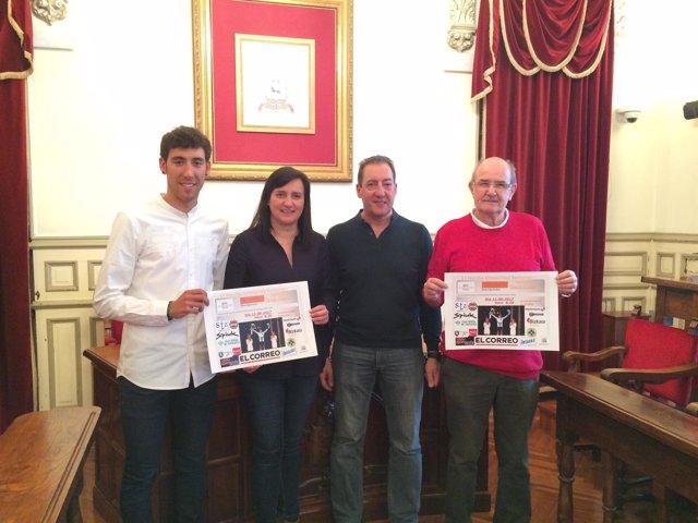 Presentación de la I Marcha Omar Fraile Santurtzi-Santurtzi