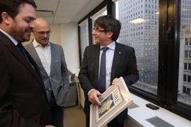 """Puigdemont afirma que el Govern """"plantará cara"""" al recurso contra los Presupuestos"""