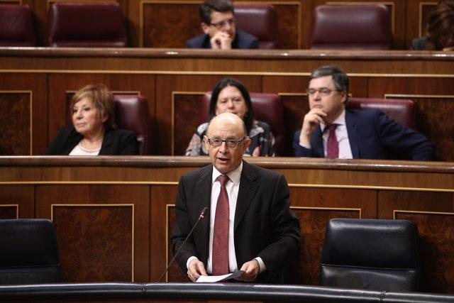 Cristóbal Montoro al Congrés