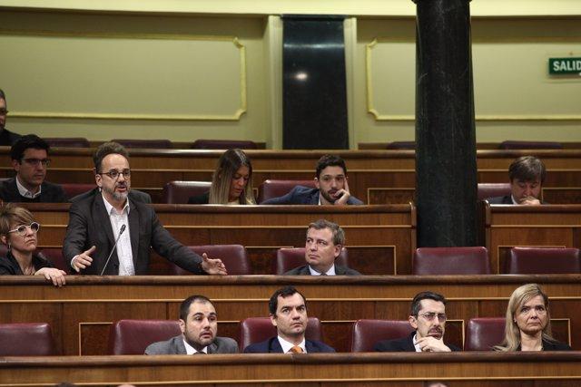 Carles Campuzano al Congrés