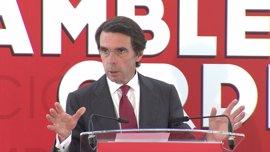 """Aznar y expresidentes latinoamericanos piden """"medidas de Derecho Internacional"""" contra el """"golpe de Estado"""" en Venezuela"""