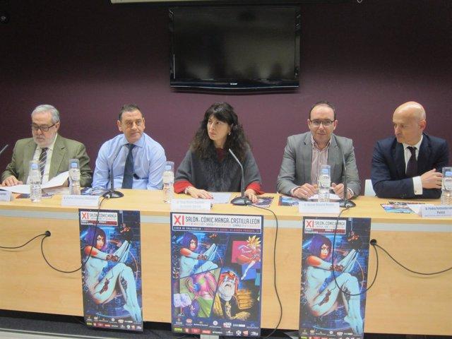 Presentación del XI Salón del Cómic y el Manga de CyL