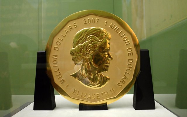 La mayor moneda de oro del mundo