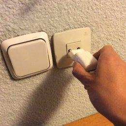 Endoll, endolls, electricitat, factura, llum, interruptor