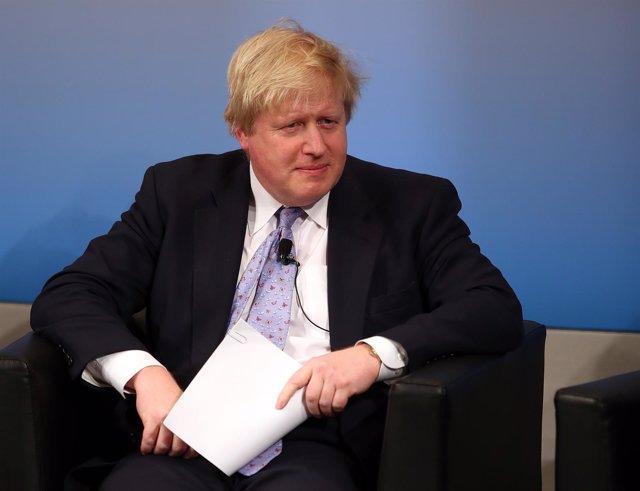 Boris Johnson, ministro de Exteriores de Reino Unido