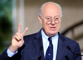 """De Mistura asegura que las conversaciones sobre Siria han sido fructíferas aunque """"aún hay mucho que hacer"""""""