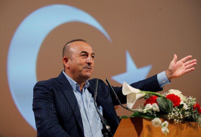 El ministro de Asuntos Exteriores de Turquía, Mevlüt Cavusoglu