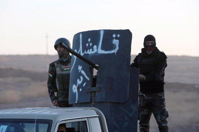Peshmerga en la ofensiva de Mosul, Irak