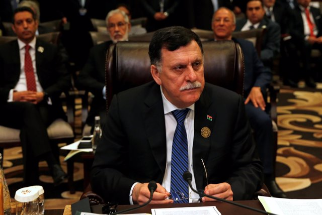 El presidente del Consejo de la Presidencia de Libia, Faiez Serraj.