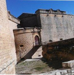 Exterior del Castillo de Sabiote.