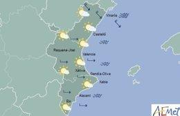 El cielo estará despejado en toda la región