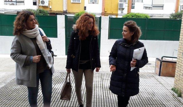 Obras en el CEIP Pino Flores del Distrito Macarena de Sevilla