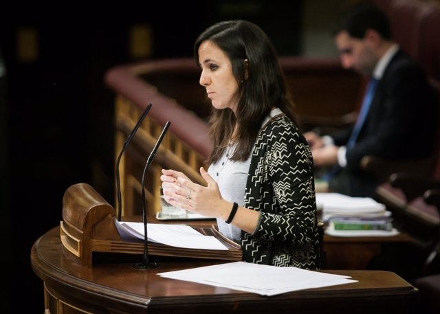 Ione Belarra, diputada de Podemos