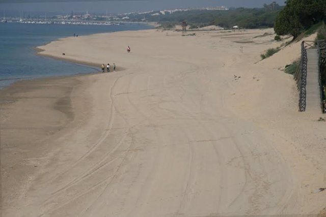 Playa de Cartaya (Huelva).