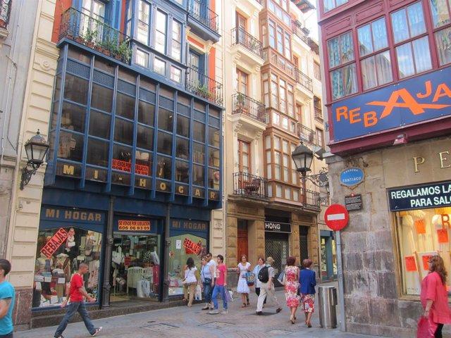 Comercios Del Casco Viejo De Bilbao