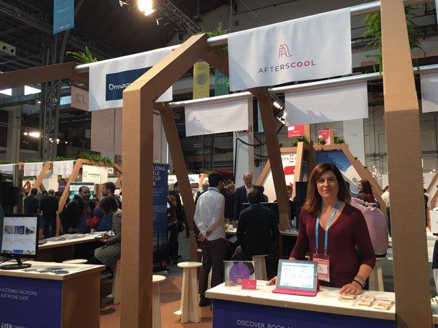 La cofundadora de Afterscool, Laia Iglesias, en el 4YFN