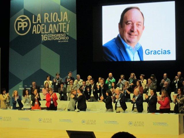 Pedro Sanz 16 Congreso Autonómico De La Rioja