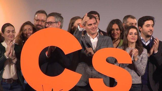 Rivera destaca el crecimiento electoral de Ciudadanos