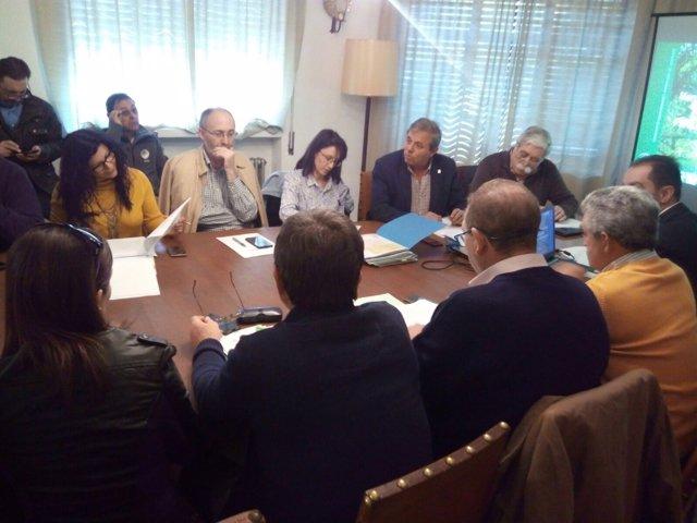 Reunión de la Junta Rectora del Parque Natural de Despeñaperros
