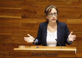 """Belén Fernández critica la """"rendición"""" de Rajoy al """"capricho"""" de Álvarez-Cascos sobre la Variante de Pajares"""