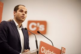 """Ciudadanos insta al Gobierno a """"tener cintura política"""" para conseguir cuanto antes que haya Presupuestos"""