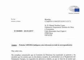 El Parlamento Europeo examinará la Ley Turística por presuntas infracciones al derecho comunitario