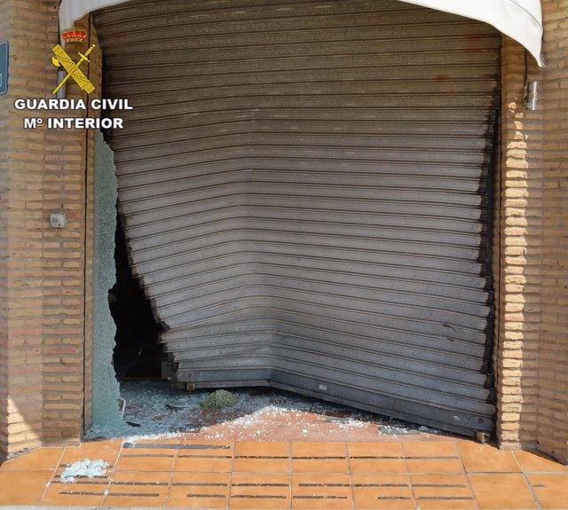 Robo en una cafetería de El Portil (Huelva)