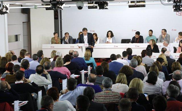 Javier Fernández habla ante el Comité Federal del PSOE