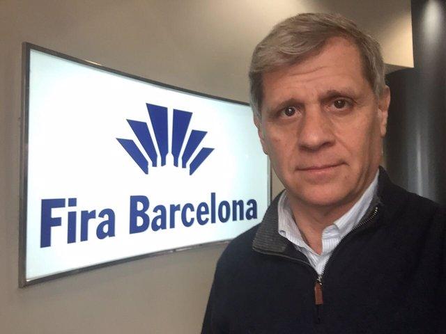 Alberto Fernández en la Fira Barcelona