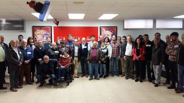 Salamanca.- Grupo de apoyo a Susana Díaz