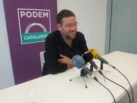 """Podem desea suerte a los 'comuns' y reivindica construir la política """"desde abajo"""""""