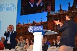 """Mañueco garantiza que el PP será el """"sostén"""" de la Junta"""