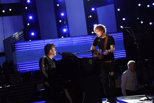 Elton John y Ed Sheeran