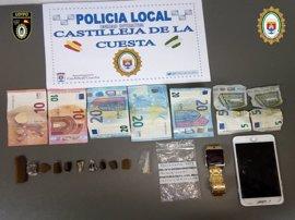 Un detenido por presunta venta de droga 'al menudeo' en un parque de Castilleja de la Cuesta (Sevilla)