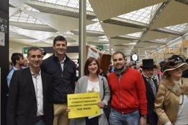 """Cs pide la """"modernización integral"""" de la línea ferroviaria Zaragoza-Teruel-Valencia"""
