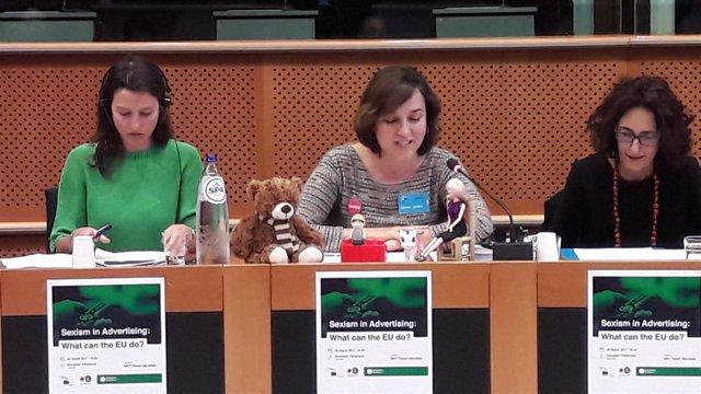 La concejala ha presentado la campaña en Bruselas