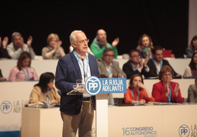 Ceniceros, nuevo presidente del PP de La Rioja