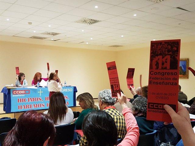 XI Congreso CCOO De Enseñanza en Oviedo