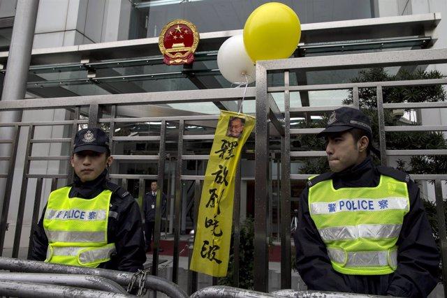 Activismo político en China