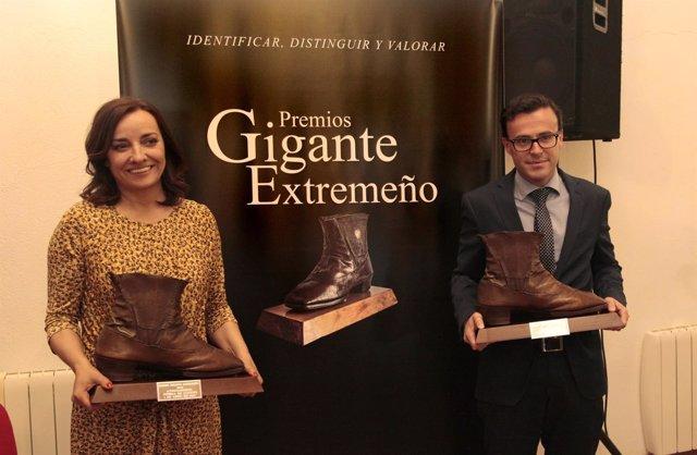 Pepa Bueno y Miguel Ángel Gallardo