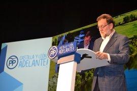 """Rajoy sobre cuántos apoyos tiene el PP: """"En mi opinión 175,5"""""""
