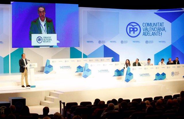 Ibáñez ha desgranado la hoja de ruta económica en el XIV Congreso