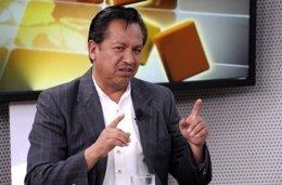 El ministro de la Presidencia de Bolivia, René Martínez