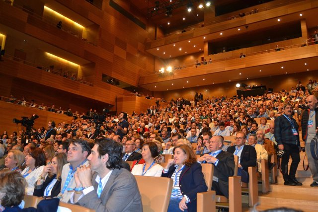 Participantes en el Congreso Regional del PP