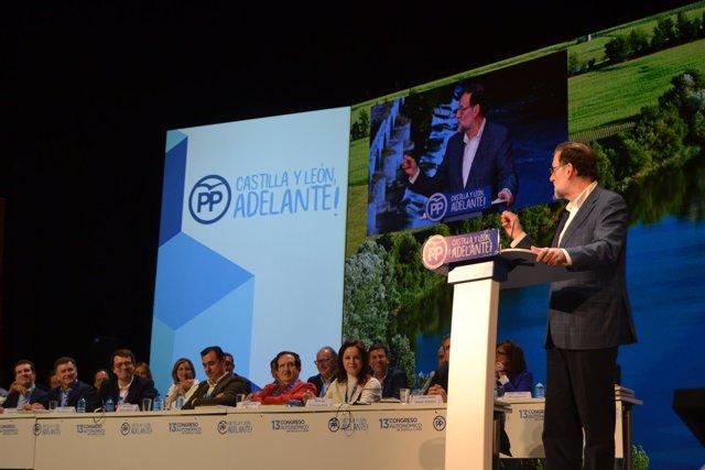 Valladolid, Rajoy en el Congreso Regional PPCyL