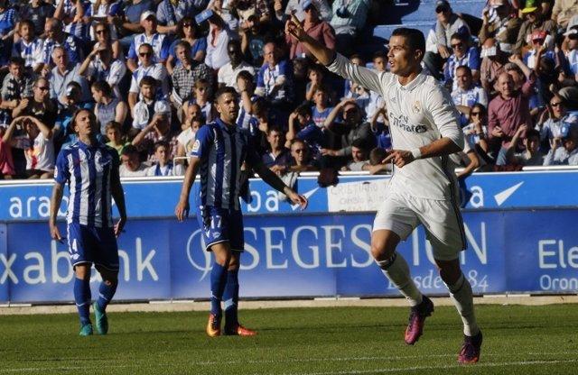 Cristiano Ronaldo Real Madrid Alavés Mendizorroza