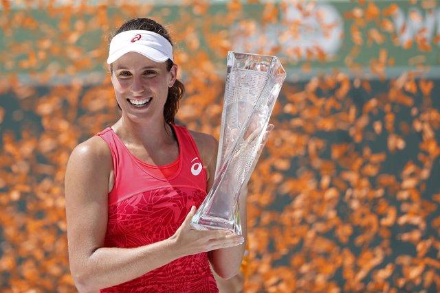 Johanna Konta gana el torneo de Miami
