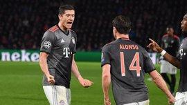 El Bayern avisa al Real Madrid y golea al Augsburgo
