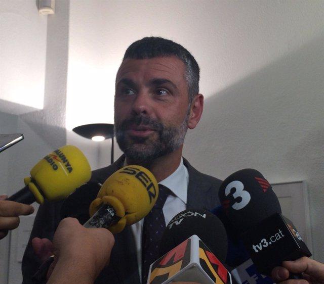 El conseller de Cultura de la Generalitat, Santi Vila