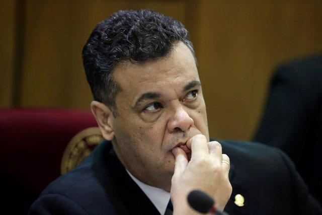 El presidente del Senado de Paraguay, Roberto Acevedo.